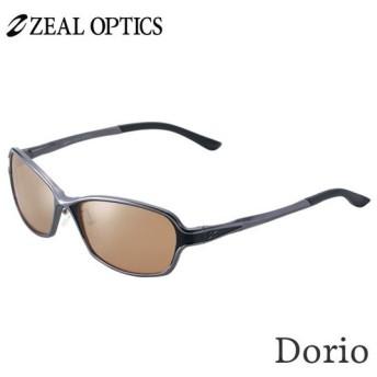 zeal optics(ジールオプティクス) 偏光グラス ドリオ F-1672 #ラスターオレンジ シルバーミラー ZEAL DORIO