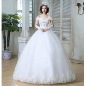 結婚式ドレス 発表會 二次會 レースドレス お呼ばれ 忘年會 ゴージャスロングドレス ウエディングドレス 演奏會 パーティードレ