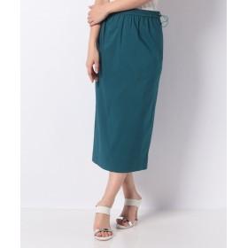 ルーニィ ギャザータイトスカート レディース ブルーグリーン 36 【LOUNIE】