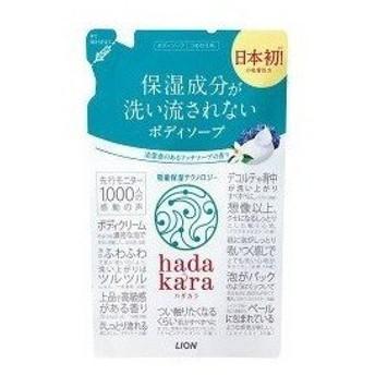 ライオン hadakara(ハダカラ)ボディソープ リッチソープの香り つめかえ用 360ml