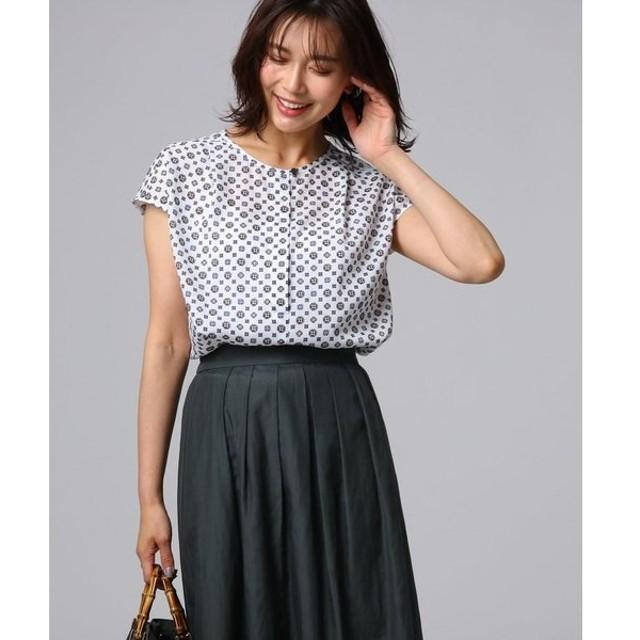 UNTITLED / アンタイトル [L]【洗える】オリエンタルモチーフシャツ
