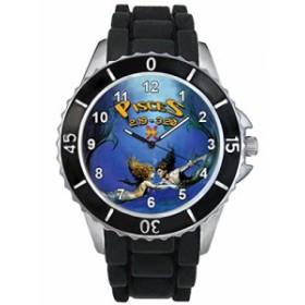 シリコーンバンドとの魚座十二宮合図男女両用デザイン時計