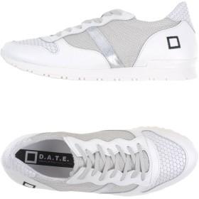 《期間限定 セール開催中》D.A.T.E. メンズ スニーカー&テニスシューズ(ローカット) ライトグレー 40 革 / 紡績繊維