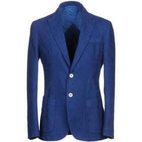 《期間限定セール開催中!》DOMENICO TAGLIENTE メンズ テーラードジャケット ブルー 46 コットン 92% / ポリエステル 8%