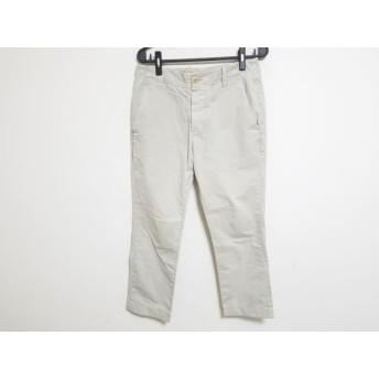 【中古】 ジェームスパース JAMES PERSE パンツ サイズ30 XS レディース グレージュ