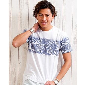 シルバーバレット CavariAグラフィックプリントTシャツ メンズ その他系6 46(L) 【SILVER BULLET】