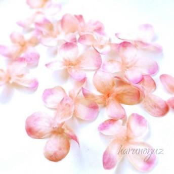 【大きめサイズ】アジサイの花びら モーヴピンク 10枚