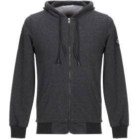 《期間限定 セール開催中》BERNA メンズ スウェットシャツ ブラック S コットン 60% / ポリエステル 40%