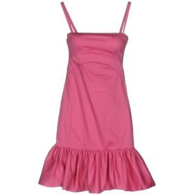 《送料無料》PINKO レディース ミニワンピース&ドレス ピンク 40 64% コットン 31% ナイロン 5% ポリウレタン
