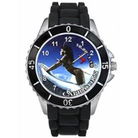 シリコーンバンドとのやぎ座十二宮合図男女両用デザイン時計