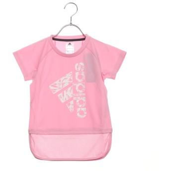 アディダス adidas ジュニア 半袖機能Tシャツ GTRNボタニカルロゴロングTシャツ DU9817