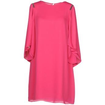 《セール開催中》HALSTON レディース ミニワンピース&ドレス フューシャ XS ポリエステル 100%