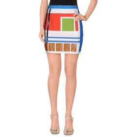 《期間限定 セール開催中》DSQUARED2 レディース ミニスカート アイボリー 38 コットン 50% / 指定外繊維(ヘンプ) 48% / ポリウレタン 2% / ウール / シルク