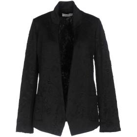 《期間限定 セール開催中》BLACK CORAL レディース テーラードジャケット ブラック 40 ポリエステル 95% / ポリウレタン 5%
