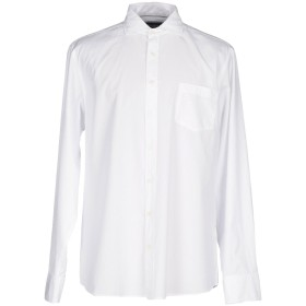 《期間限定 セール開催中》HACKETT メンズ シャツ ホワイト L コットン 100%