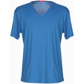 《期間限定 セール開催中》DANIELE ALESSANDRINI メンズ T シャツ アジュールブルー XL 100% コットン
