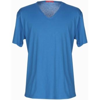 《期間限定セール開催中!》DANIELE ALESSANDRINI メンズ T シャツ アジュールブルー XL 100% コットン