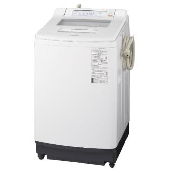 NA-JFA806-W 全自動洗濯機 クリスタルホワイト [洗濯8.0kg /乾燥機能無 /上開き]