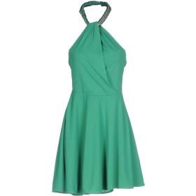 《セール開催中》PATRIZIA PEPE レディース ミニワンピース&ドレス グリーン 0 アセテート 80% / ナイロン 20%