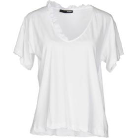 《期間限定セール開催中!》.TESSA レディース T シャツ ホワイト L コットン 100%