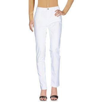 《セール開催中》RE-HASH レディース パンツ ホワイト 31 コットン 98% / ポリウレタン 2%