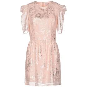 《期間限定セール開催中!》RELISH レディース ミニワンピース&ドレス ピンク S ポリエステル 100%