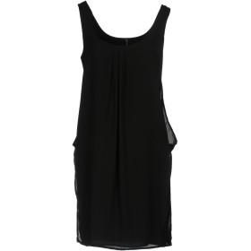 《期間限定 セール開催中》MANILA GRACE レディース ミニワンピース&ドレス ブラック 40 ポリエステル 100%