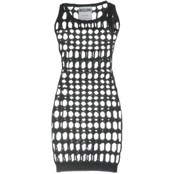《セール開催中》MOSCHINO レディース ミニワンピース&ドレス ブラック 38 ポリエステル 100%