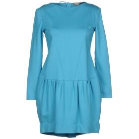 《セール開催中》ALTEЯGO レディース ミニワンピース&ドレス ターコイズブルー 42 レーヨン 95% / ポリウレタン 5%