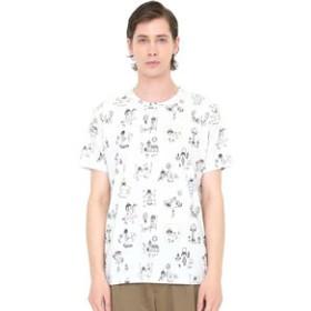 【グラニフ:トップス】グラニフ Tシャツ メンズ レディース 半袖 ぼくのキュートナパターン(荒井良二ショートスリーブティーC)