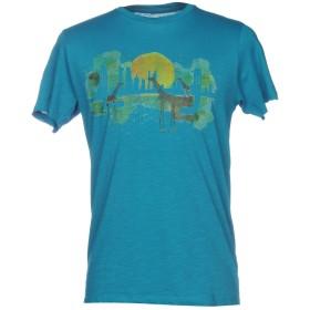 《9/20まで! 限定セール開催中》LIU JO MAN メンズ T シャツ ターコイズブルー XL コットン 100%