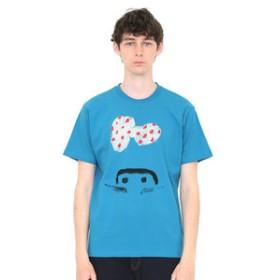 【グラニフ:トップス】グラニフ Tシャツ メンズ レディース 半袖 花の草(荒井良二)