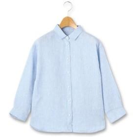 KEITH Lサイズ / キースエルサイズ シャンブレーリネン シャツ
