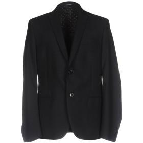 《期間限定 セール開催中》DANIELE ALESSANDRINI HOMME メンズ テーラードジャケット ブラック 52 ポリエステル 65% / レーヨン 35%
