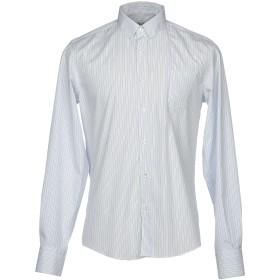 《期間限定 セール開催中》LOW BRAND メンズ シャツ スカイブルー 3 コットン 100%