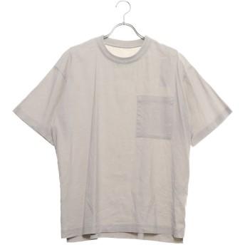 コムサイズム COMME CA ISM リネン ハイパワーストレッチ Tシャツ (アイボリー)