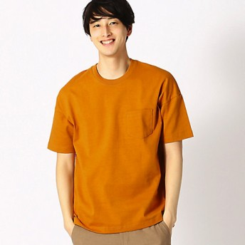 【SALE(三越)】<COMME CA ISM (メンズ)> Tシャツ(4760TL21) イエロー 【三越・伊勢丹/公式】