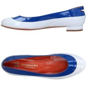 《9/20まで! 限定セール開催中》SAINT-HONOR PARIS SOULIERS レディース バレエシューズ ブルー 35 紡績繊維