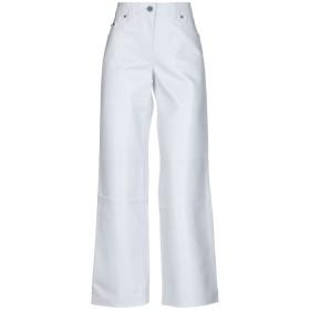 《セール開催中》CALVIN KLEIN 205W39NYC レディース パンツ ホワイト 36 羊革(ラムスキン) 100%