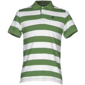 《期間限定 セール開催中》MCNEAL メンズ ポロシャツ グリーン XS コットン 100%