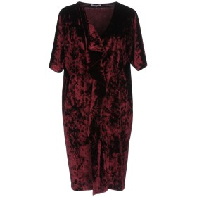 《セール開催中》HOPE COLLECTION レディース ミニワンピース&ドレス ディープパープル 42 ポリエステル 90% / ポリウレタン 10%