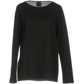 《期間限定セール開催中!》OBL UNIQUE レディース T シャツ ブラック XS コットン 50% / ポリエステル 50%