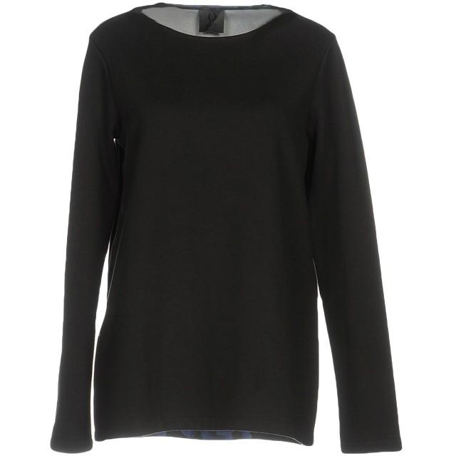 《セール開催中》OBL UNIQUE レディース T シャツ ブラック XS コットン 50% / ポリエステル 50%