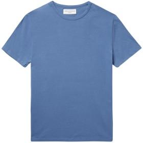 《期間限定セール開催中!》OFFICINE GNRALE Paris 6 メンズ T シャツ パステルブルー XS コットン 100%