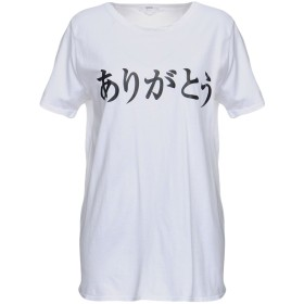 《セール開催中》MIKOH レディース T シャツ ホワイト 1 コットン 100%
