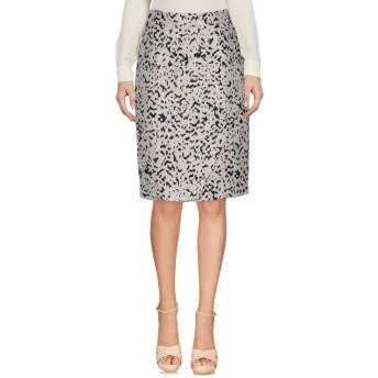 《セール開催中》VDP COLLECTION レディース ひざ丈スカート ライトグレー 40 ポリエステル 50% / レーヨン 31% / コットン 18% / 指定外繊維 1%