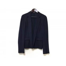【中古】 ジョセフ JOSEPH ジャケット サイズ40 L レディース 美品 ネイビー