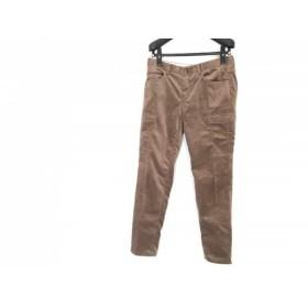 【中古】 ニジュウサンク 23区 パンツ サイズ40 M レディース ブラウン