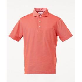 【SALE(三越)】<23区HOMME> ALBINI CORCORAN クールドライ ポロシャツ(KHNSKM0401) ライトオレンジ【三越・伊勢丹/公式】
