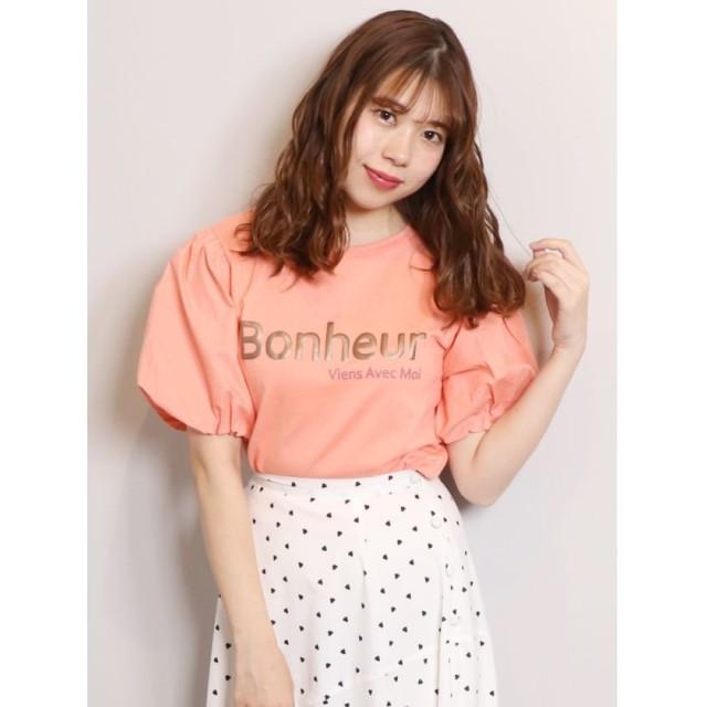 【54%OFF】 ダズリン BonheuruTシャツ レディース ピンク F 【dazzlin】 【セール開催中】